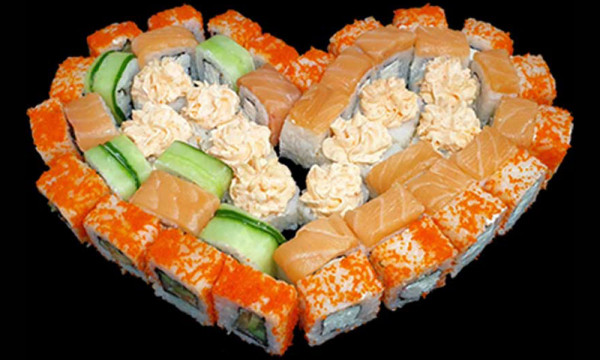 Набор Романтик с лососем