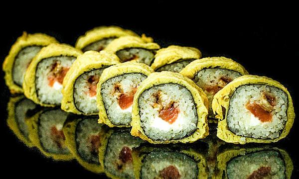 Темпура ролл Темпура Ич с лососем