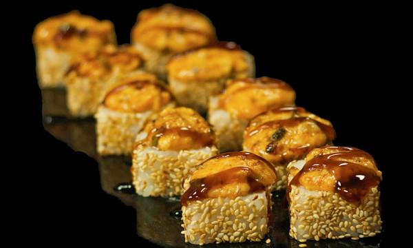 Ролл запеченный Унаги хот с угрем