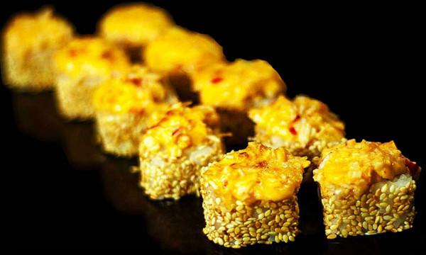 Ролл Запеченный краб с сыром Гауда